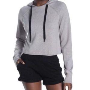 NWT n:Philanthropy Cari Cropped Pullover Hoodie XS